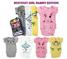 Toko Kazel Bodysuit 4In1 Jumper Bayi Modern Rabbit Edition G*rl Yang Bisa Kredit