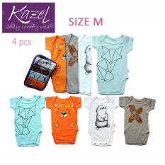 Jual Kazel Bodysuit Fox Edition Isi 4 Pcs M Grosir