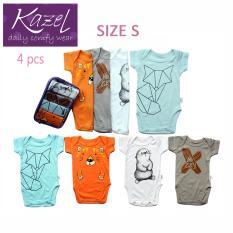 Review Kazel Bodysuit Fox Edition Isi 4 Pcs S Kazel Di Jawa Barat