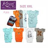 Jual Kazel Bodysuit Fox Edition Isi 4 Pcs Xxl