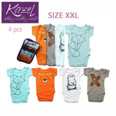 Kazel Bodysuit Fox Edition Isi 4 Pcs Xxl Murah