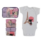 Jual Kazel Bodysuit G*rl Edition Baju Bayi S D Balita 2 Thn Satu Set