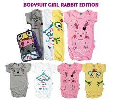 Spesifikasi Kazel Bodysuit G*Rl Rabbit Edition S 3 6 M Baju Bayi S D Batita Yg Baik
