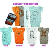 Toko Kazel Bodysuit Jumper Bayi Motif Fox Edition 4In1 Lengkap