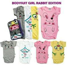 Harga Kazel Bodysuit Jumper Bayi Motif Rabbit Edition 4In1 Size L Online Jawa Barat