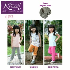 Diskon Kazel Jobel Long Pants Set Fanta Isi 3 Pcs L