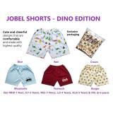 Kazel Jobel Short Pants Dino Edition Celana Pendek Anak Isi 4 Size M L Promo Beli 1 Gratis 1
