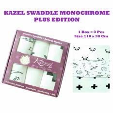 Beli Kazel Modern Swaddle Bedong Bayi 3In1 Monochrome Plus Edition Kazel Murah