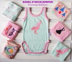 Kazel ONeck Jumper Princess Edition - baju bayi s.d batita ( 0 - 2 thn )