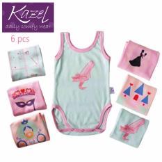 Spesifikasi Kazel O Neck Singlet Jumper Princess Edition Isi 6 Pcs M Yg Baik