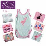 Beli Kazel O Neck Singlet Jumper Princess Edition Isi 6 Pcs Nb Seken