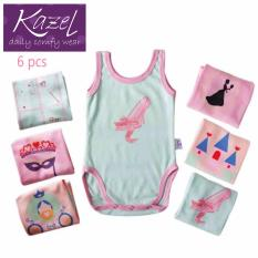 Jual Kazel O Neck Singlet Jumper Princess Edition Isi 6 Pcs S Antik