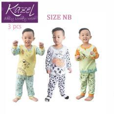 Toko Kazel Piyama Boy Set Baju Tidur Anak Setelan Isi 3 Pcs Nb Kazel Online