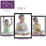 Toko Kazel Piyama Boy Ship Edition Baju Tidur Setelan Anak Isi 3 Pcs L Online