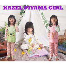 Beli Kazel Piyama G*Rl Setelan Oblong Celana Panjang 3In1 Size S Di Jawa Barat