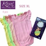 Review Kazel Ruffle Singlet Jumper Isi 4 Pcs Xl Terbaru