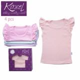 Harga Kazel Ruffle Tee Isi 4 Pcs Shirt Kaos Atasan Anak Baju Bayi Lucu Murah Origin