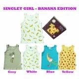Diskon Kazel Singlet Banana Edition 4In1 Size S Kazel