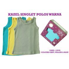 Harga Kazel Singlet Polos Warna Edition Bayi Modern Kazel