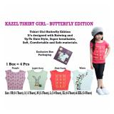 Harga Kazel Tshirt G*rl Butterfly Edition Yang Murah Dan Bagus