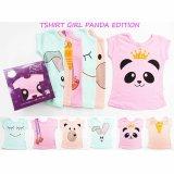 Review Terbaik Kazel Tshirt Panda Edition L 3 4Yr
