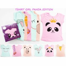 Jual Cepat Kazel Tshirt Panda Edition L 3 4Yr