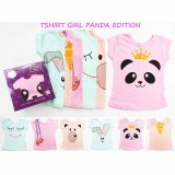 Jual Kazel Tshirt Panda Edition M 2 3Yr Import