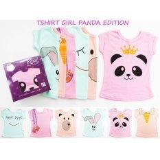 Kazel Tshirt Panda Edition M 2 3Yr Terbaru