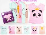Review Toko Kazel Tshirt Panda Nb 1 Yr Baju Bayi S D Anak Anak