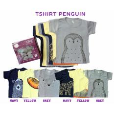 Promo Kazel Tshirt Penguin Edition Xxl 5 6Yr Baju Bayi S D Balita