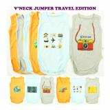 Harga Kazel V Neck Jumper Bayi Motif 6In1 Travel Edition New