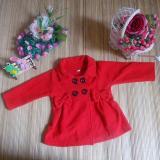 Harga Kembarshop Jaket Bayi Mantel Bayi Hangat Lembut Merah 12 Bulan Kembarshop Online