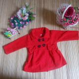 Beli Kembarshop Jaket Bayi Mantel Bayi Hangat Lembut Merah 1 2 Tahun Dengan Kartu Kredit