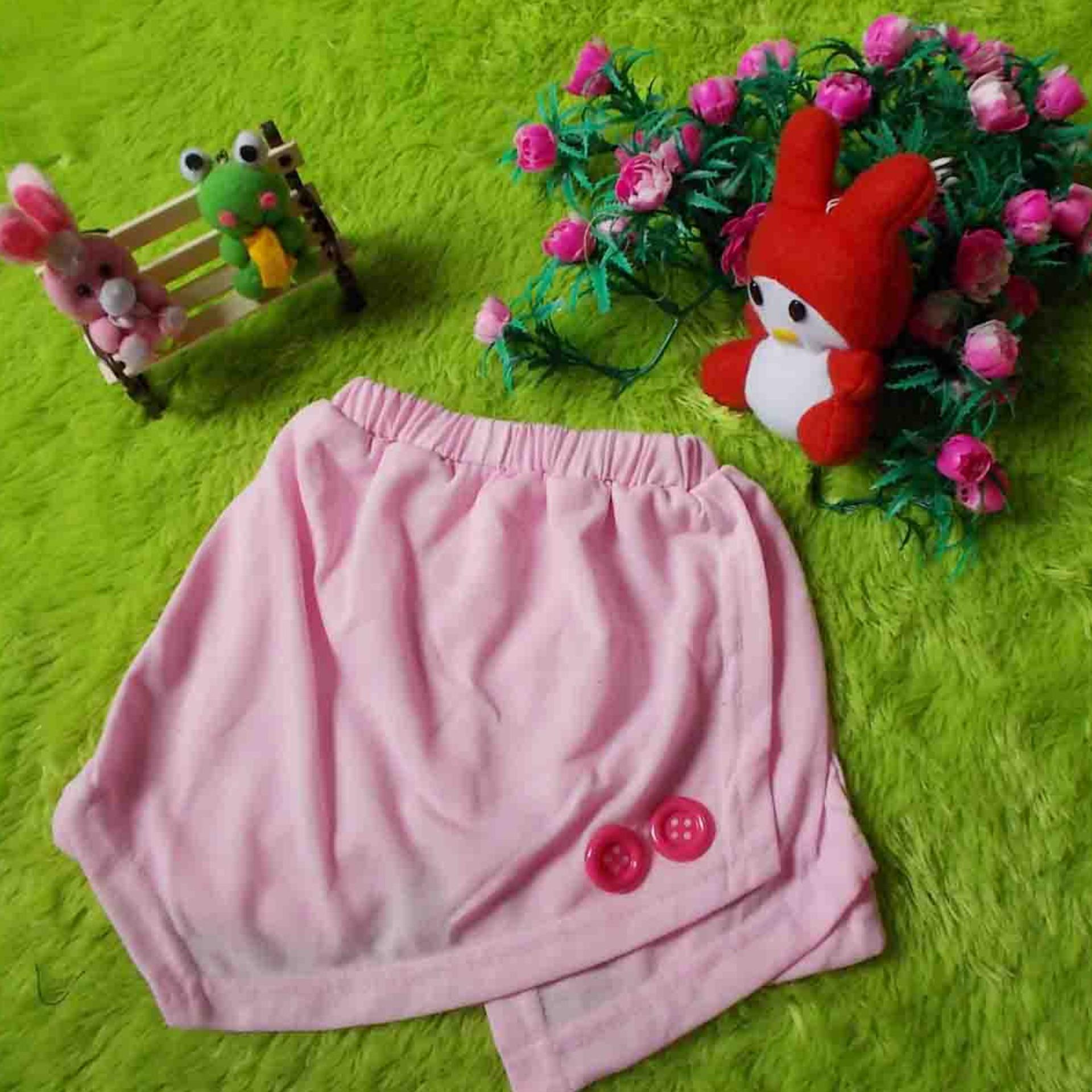 Pencarian Termurah kembarshop - Skort Anak Bayi Rok Mini Dalamnya Celana Pendek Soft Pink sale -