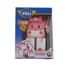 Jual Kenz Mainan Anak Koleksi Robocar Poli Mini Amber Pink Murah