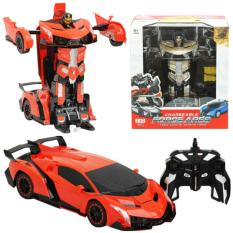 Kenz Mainan Anak Mobil Rc Changeable Force Ares Limited Edition Terbaru