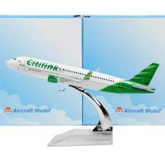 Harga Kenz Mainan Koleksi Anak Miniatur Pesawat Citilink Baru Murah