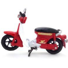 Kerajinan Jogja Miniatur Motor Honda Pitung 70 Klasik - Merah