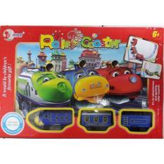 Kereta Chuggington Track Roller Coaster Mainan Anak Laki Laki - Zy9ivv