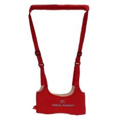 KID Keeper Berjalan Bayi Aman Asisten Belajar Sabuk Kids Toddler Adjustable Tali Pengaman Wing Harness Membawa Merah-Intl