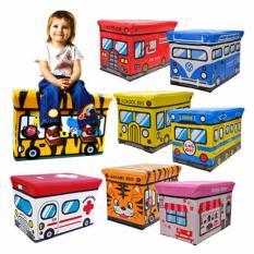 KID Storage Box BUS Kotak peyimpanan mainan