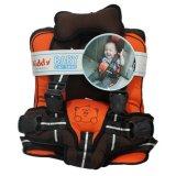 Jual Kiddy Baby Car Seat Car Cushion Agar Balita Nyaman Di Mobil Orange Branded Murah