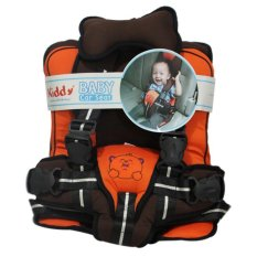 Beli Barang Kiddy Baby Car Seat Car Cushion Agar Balita Nyaman Di Mobil Orange Online