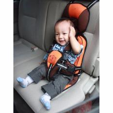 Kiddy Baby Car Seat Kursi Dudukan Anak di Mobil Carseat Portable (Orange)