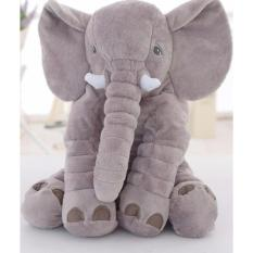 Beli Kiddy Baby Elephant Pillow Bantal Tidur Gajah Bayi Abu Abu Terbaru