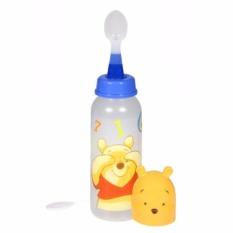 Kiddy Baby Feeding Bottle with Spoon 250ml WTP03088 - Perlengkapan Bayi Botol Susu Sendok