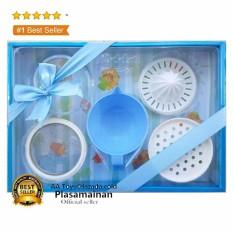 Kiddy Baby Food Maker Set KD-86-04 5 Pcs - Perlengkapan Bayi Peralatan Penghalus Makanan Bayi