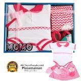 Beli Kiddy Baby Gift Set 11161 Pink New Satu Set Pakaian Bayi Perempuan Online Jawa Barat