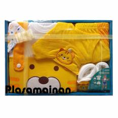 Diskon Kiddy Baby Gift Set Cat 11154 Kuning Set Pakaian Bayi Motif Kucing Branded