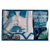 Kiddy Baby Gift Set Jumpsuit Motif 11161 Biru Set Pakaian Bayi Indonesia Diskon